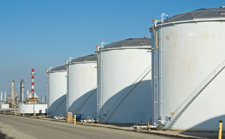 Dépôts pétroliers