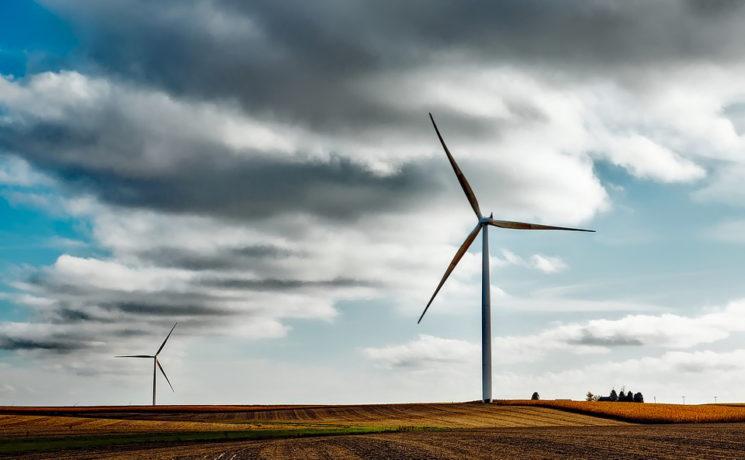 Déconstruction d'éoliennes