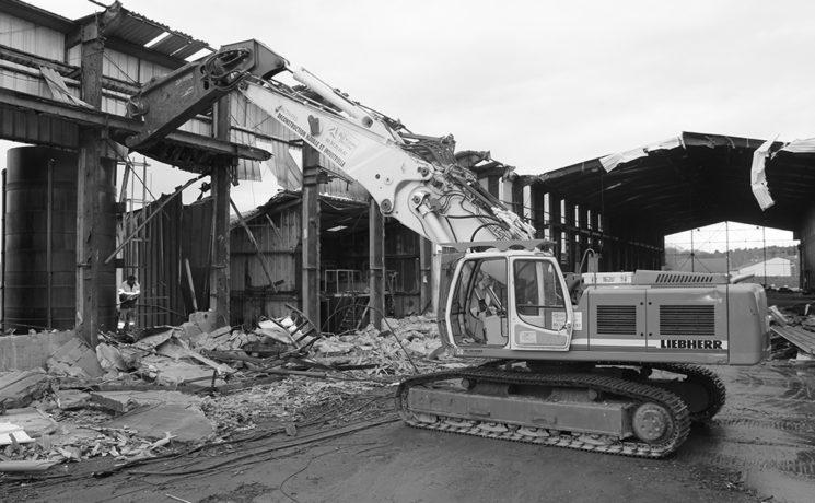 Dépollution et démolition d'une usine