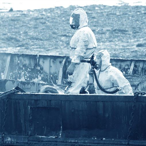 Chantier naval désamiantage